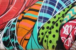 I graffiti murano a Phoenix Arizona Immagine Stock Libera da Diritti