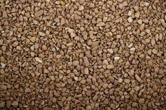 I granelli del caffè macinato impallidiscono il marrone Fotografia Stock Libera da Diritti