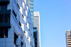 I grattacieli alti di affari Immagine Stock Libera da Diritti