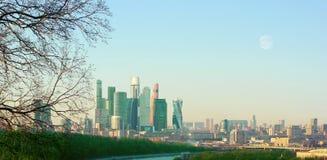 I grattacieli nel centro di Mosca Immagine Stock
