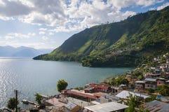 By i Guatemala Royaltyfri Fotografi