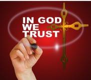I gud litar på vi vektor illustrationer