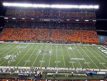 I guerrieri di UH Hawai hanno installato al calcio iniziale la palla a Nevada Wolf Pa Fotografia Stock