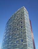I höjden hotellbyggnadshamnkvarter Royaltyfria Foton