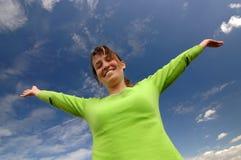 I am happy Stock Photography