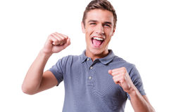 I am happy! Royalty Free Stock Image