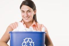 I hart recycling Royalty-vrije Stock Foto's