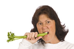 I hate Celery Stock Photos