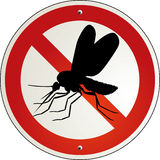 I hate these critters!. Sign Stock Photography
