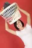 I hate launderings Stock Photo