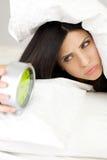 I hate my alarm clock Royalty Free Stock Image