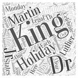 I Have a Dream Celebrating Dr Martin Luther King Jrs Birthday word cloud concept word cloud concept vector background Stock Photo