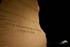 I Have a Dream--MLK Memorial Royalty Free Stock Image