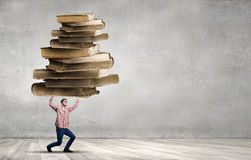 I have so much to study! Royalty Free Stock Images