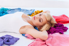I have nothing to wear! Stock Photo