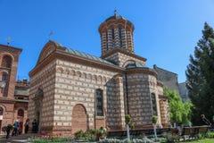 Biserica Sfântul Anton. Church in Bucharest, Romania. Shoot in april 2018 royalty free stock image