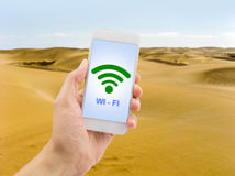 I have wifi everywhere Stock Photography