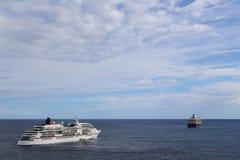 I havet Royaltyfria Foton