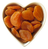 I heart apricots Stock Images