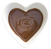 I heart chocolate Stock Images