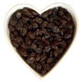 I heart raisins Stock Photo