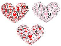 I heart U Royalty Free Stock Image