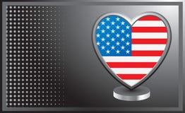 I heart USA Stock Photography