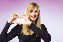 I heart you. Royalty Free Stock Images
