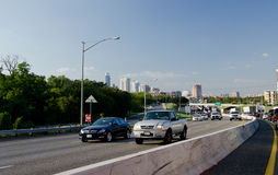 I35 highway in Austin. Traffic on I35 highway in Austin, Texas Stock Image