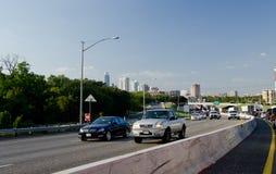 I35 highway in Austin Stock Image