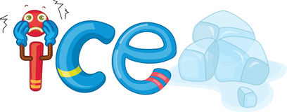 I for ice Royalty Free Stock Photography