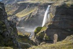 I ifoss del ¡ di HÃ cadono, fiume del ¡ di FossÃ, Islanda 5 Immagine Stock