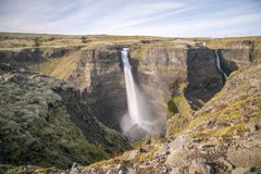 I ifoss del ¡ di HÃ cadono, fiume del ¡ di FossÃ, Islanda 8 Fotografia Stock Libera da Diritti