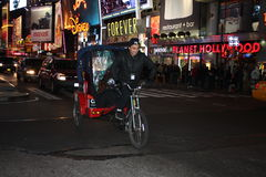 I inTimes della Pedi-Carrozza quadrano, NYC Immagine Stock Libera da Diritti