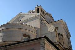 I Italien hemmet av gudarna, en härlig kyrka Royaltyfria Foton