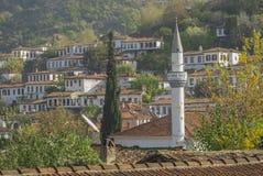 By i Izmir Turkiet Sirince fotografering för bildbyråer