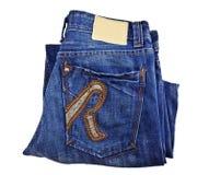 I jeans appoggiano la casella Immagine Stock Libera da Diritti