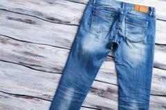 I jeans casuali di signora Fotografia Stock