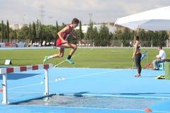 I junior di atletica di ECCC raggruppano A Fotografie Stock Libere da Diritti