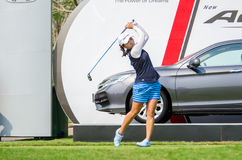 I.K. Kim of South Korea in Honda LPGA Thailand 2016 Royalty Free Stock Photos