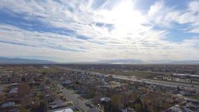 I-15 Kaysville Utah Imagen de archivo libre de regalías