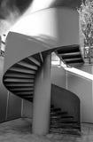 Žižkov Tower spiral staircase Stock Photos