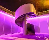 Žižkov Tower spiral staircase Stock Photography