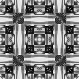I labyrinten av en modell av sidor och band royaltyfri illustrationer