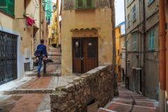 I labyrinten av gator Fotografering för Bildbyråer