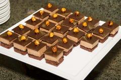 I lager bagerifester för söt choklad Fotografering för Bildbyråer