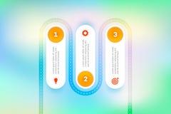 I lager Infographic Timeline Vektorkretsschema, mall för den moderna affärspresentationen, årsrapporter, orienteringar Fotografering för Bildbyråer