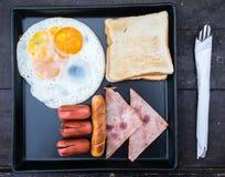 i lager redigerbara lutningar för illustrationsfrukost ingen använd set Arkivbilder