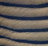 i lanzarote abstrakt begrepp av en torr sand stranden Arkivfoto