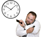 I am late for the departure Royalty Free Stock Photo